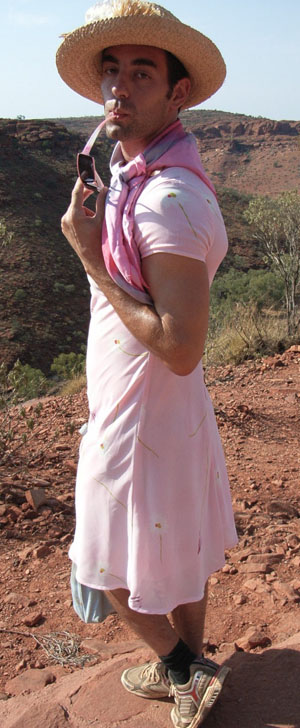 Me in a dress