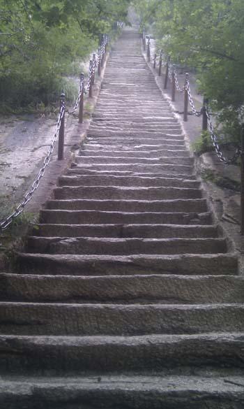 Hua Shan endless steps