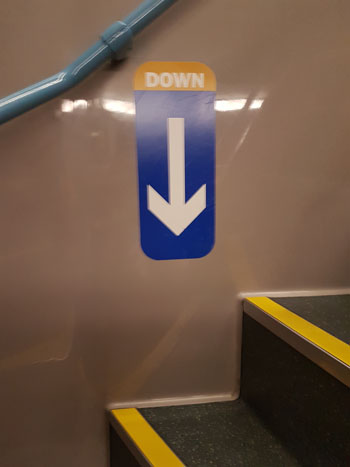Down Sign