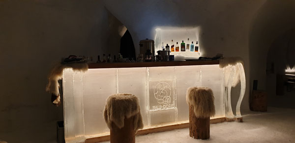 The ice Bar!